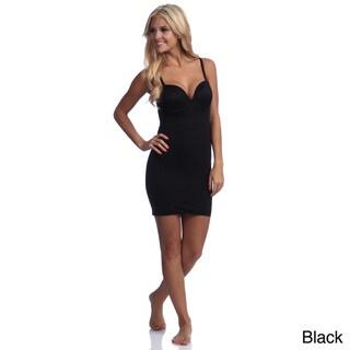 Ilusion Women's Integrated Bra Body-shaping Full Slip
