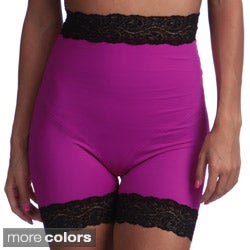 Ilusion Women's Lace Trimmed High-waisted Body-shaper