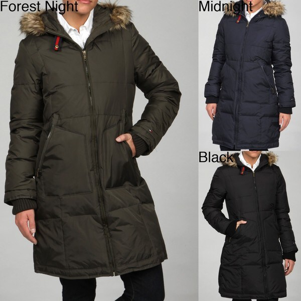 Tommy Hilfiger Women's Down Hooded Anorak