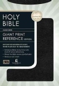 King James Personal Size Giant Print Reference Bible: Deluxe Black Bonded Leather : User's Guide (Paperback)