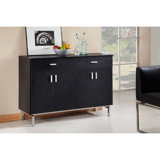 Furniture of America Mason Black Finish Buffet/ Dining Server