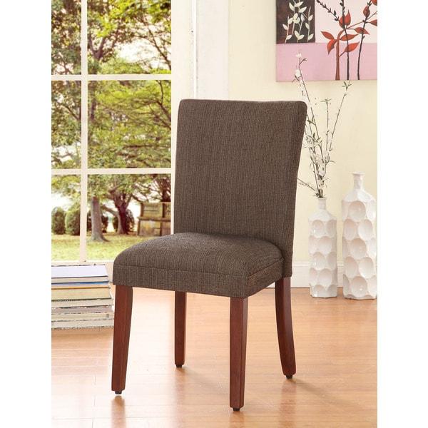 HomePop Elegant Parson Dining Chair