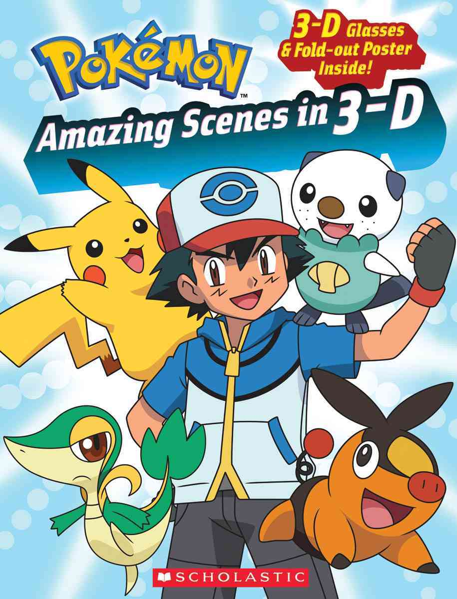 Pokemon: Amazing Scenes in 3-D (Paperback)