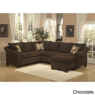 Brooke Chenille Fabric Sectional