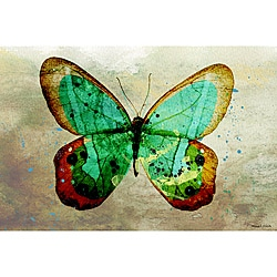 Maxwell Dickson 'Butterfly' Wall Decor Canvas Art