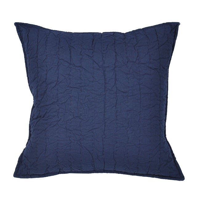 Navy Throw Pillow Sets : Brighton Navy Decorative Pillow - 13956297 - Overstock.com Shopping - Great Deals on Cottage ...