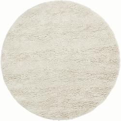 Hand-woven Edenbridge New Zealand Wool Plush Shag Rug (8' Round)