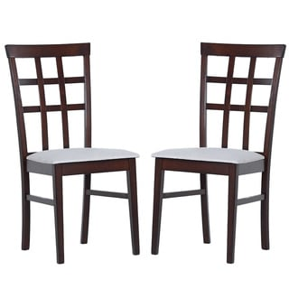 Warehouse of Tiffany Justin Armless Dining Chairs (Set of 8)