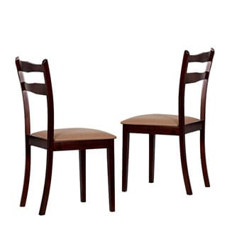 Warehouse of Tiffany Callan Wood Dining Chairs (Set of Four)