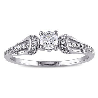 Miadora 14k Gold 2/5ct TDW Diamond Engagement Ring (G-H, I1-I2)