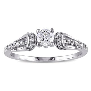 Miadora 14k Gold 2/5ct TDW Diamond Engagement Ring (G-H, I1-I2)