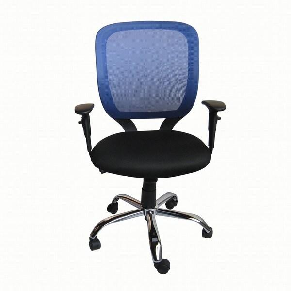 Foust Blue Mesh Back Task Chair