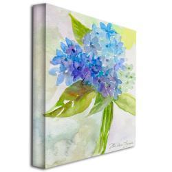 Wendra 'Hydrangea' Canvas Art
