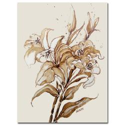 Wendra 'Lily' Canvas Art