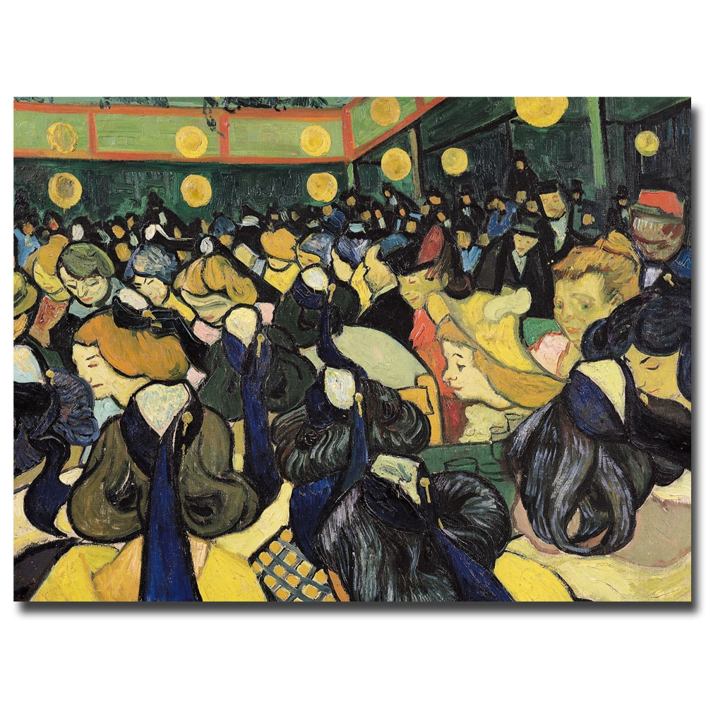 Vincent van Gogh 'The Dance Hall at Arles 1888' Museum Masters Canvas Art