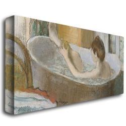 Edgar Degas 'Woman in Her Bath 1883' Canvas Art