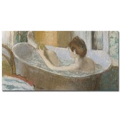 Edgar Degas 'Woman in Her Bath 1883' Canvas Art