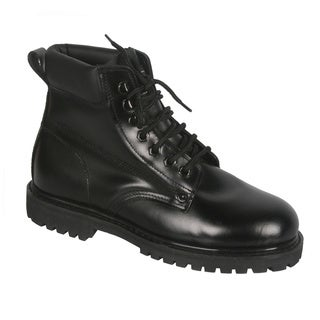 Rockman Men's Black Lace-up Oxford Work Boots