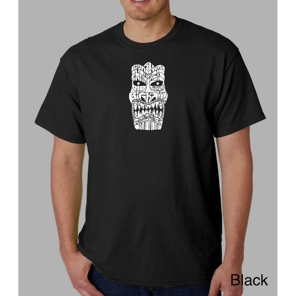 Los Angeles Pop Art Men's Tiki Big Kahuna T-shirt