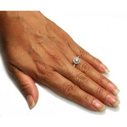 Beverly Hills Charm 14k White Gold 3/4ct TDW Diamond Engagement Ring (H-I, I1)