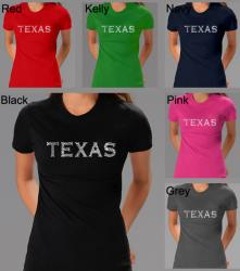 Los Angeles Pop Art Women's Texas T-shirt