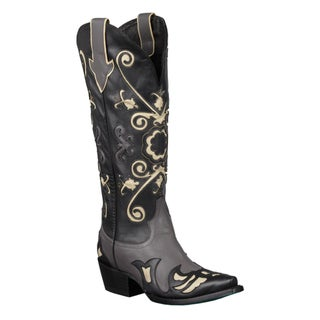 Lane Boots Women's 'Margaret' Knee-High Cowboy Boots