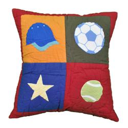 Cottage Home Sports Reversible Decorative Pillow