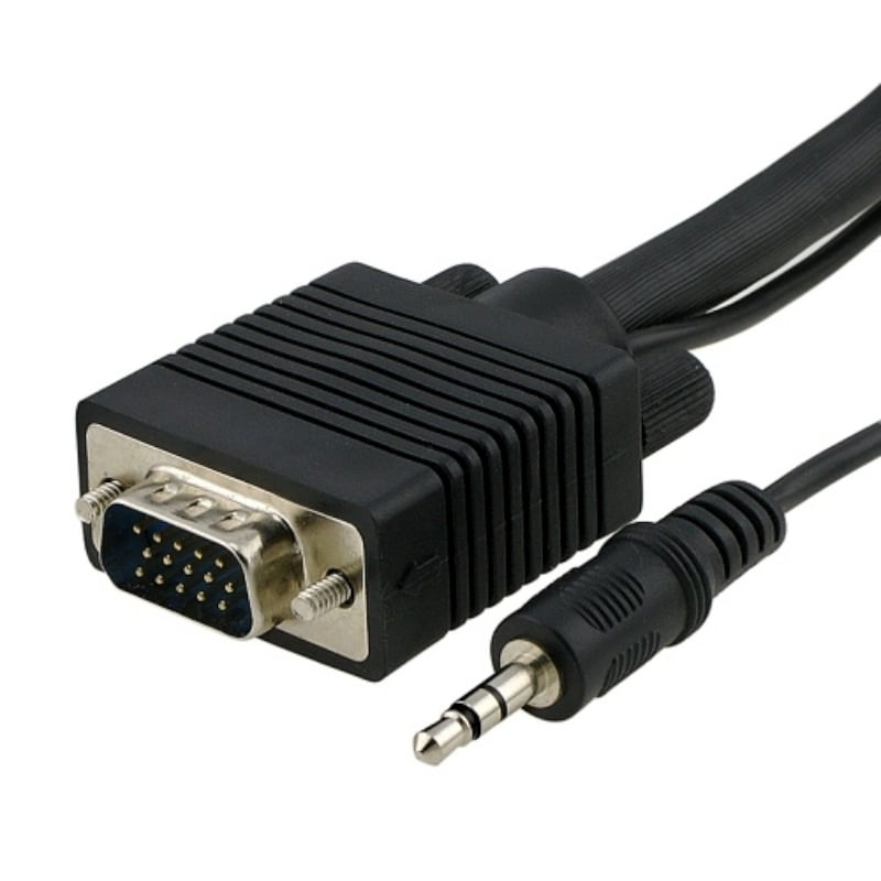 INSTEN 10-foot SVGA M/ M Monitor Extension Cable with Audio
