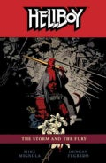 Hellboy 12: The Storm and the Fury (Paperback)