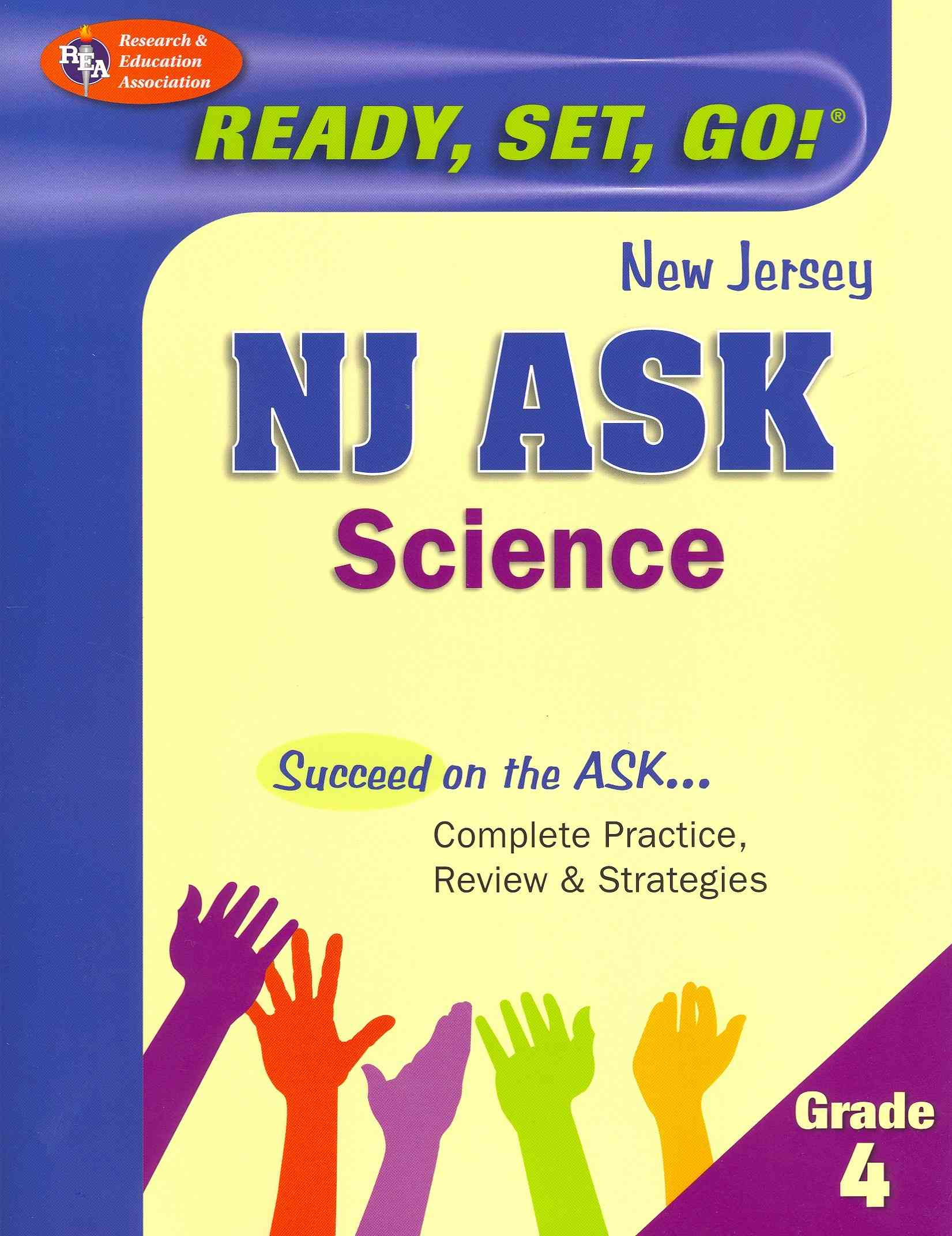 NJ Ask Science Grade 4 (Paperback)