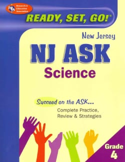NJ Ask Science Grade 4 (Paperback)