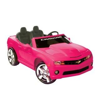 Kid Motorz Pink Ride-on 2-seater Chevrolet Camaro