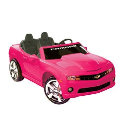 Pink Chevrolet Camaro Ride-On