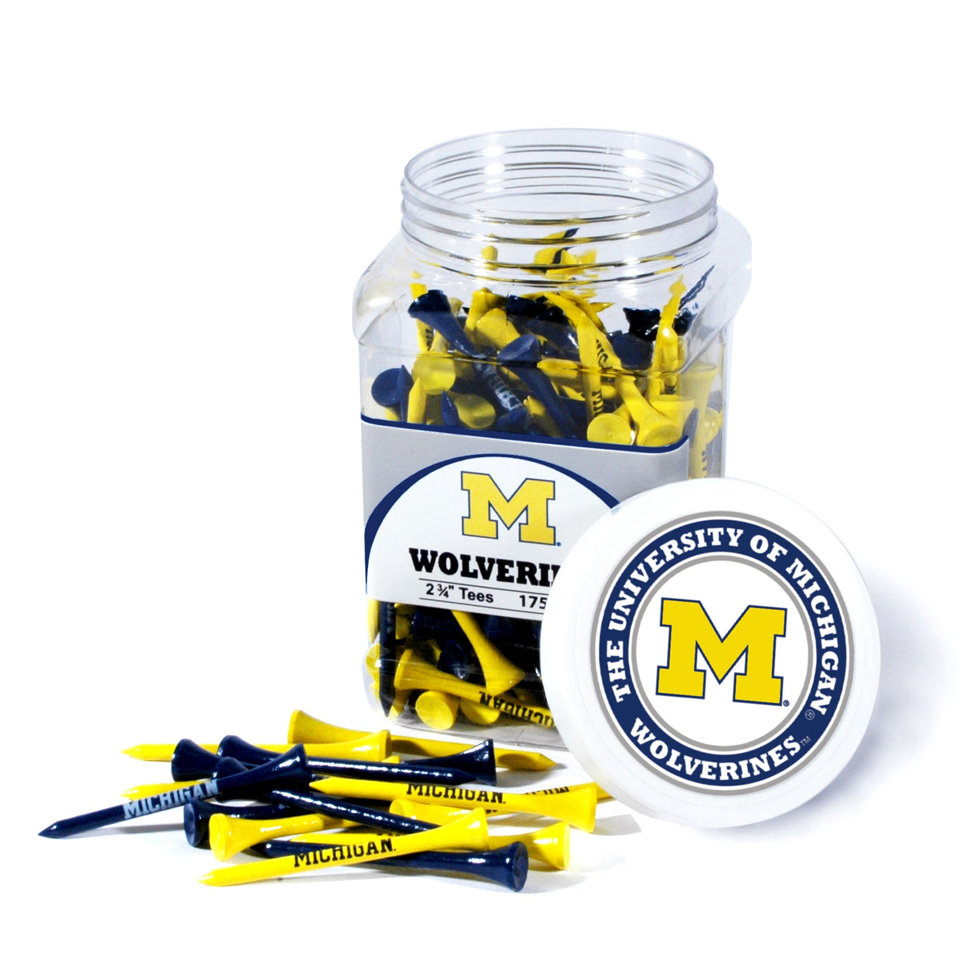 Michigan Wolverines 175 Tee Jar