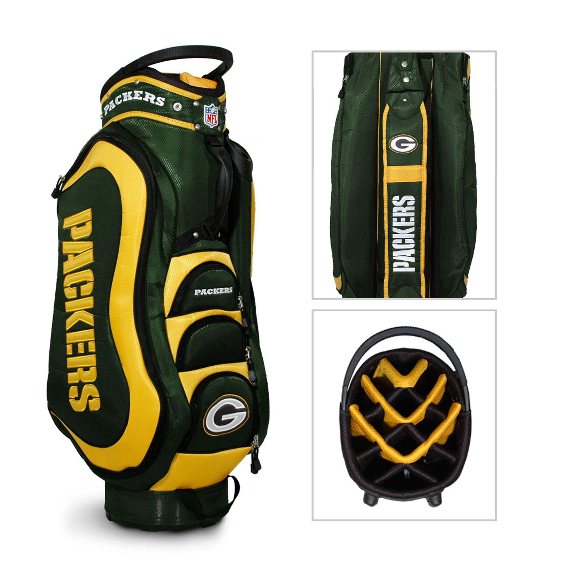 Green Bay Packers NFL Medalist Cart Golf Bag