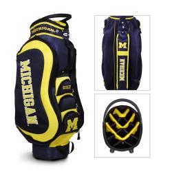 Michigan Wolverines NCAA Medalist Cart Golf Bag