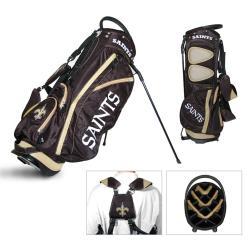 New Orleans Saints NFL Fairway Stand Golf Bag