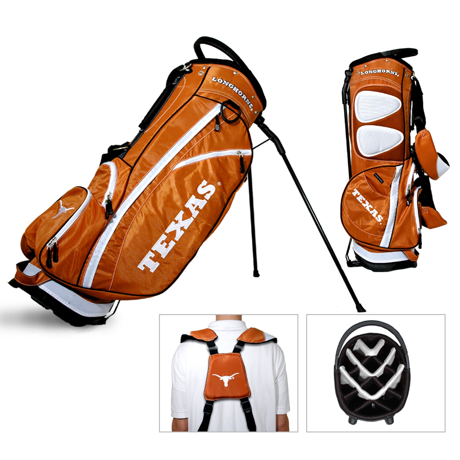 Texas Longhorns NCAA Fairway Stand Golf Bag