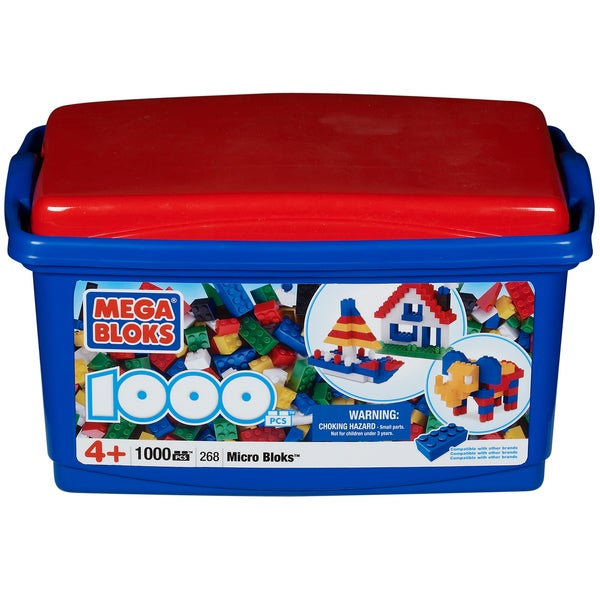 Micro Bloks Classic 1000-piece Tub Play Set