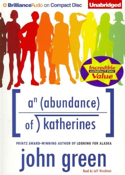 An Abundance of Katherines (CD-Audio)