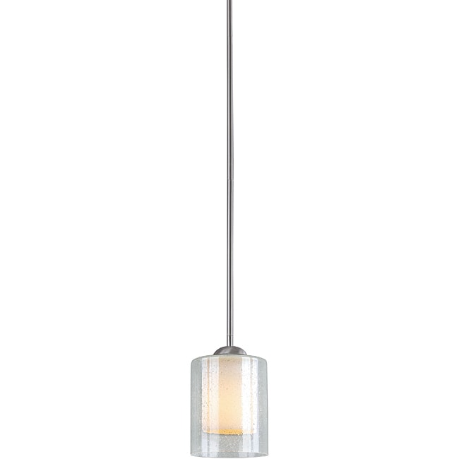 Woodbridge Lighting Cosmo 1-light Satin Nickel Mini Pendant