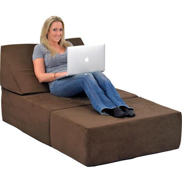 Comfort Lounge Memory Foam Ottoman