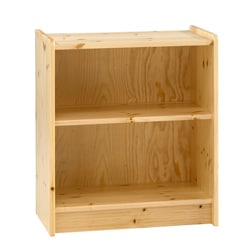 Popsicle Natural Low Bookcase