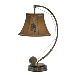 Fishing Pole 1-light Table Lamp