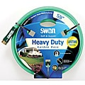 "Swan Soft Supple 5/8""X25' Reinf Rubber/Vinyl Garden Hose"