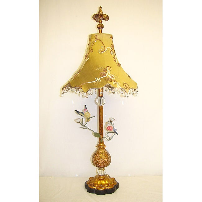 Fancy Birds 1-light Table Lamp