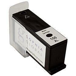 Sophia Global Lexmark 100XL Black Ink Cartridge (Remanufactured)