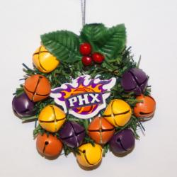Phoenix Suns Wreath Ornament