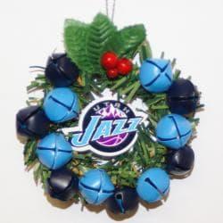 Utah Jazz Wreath Ornament
