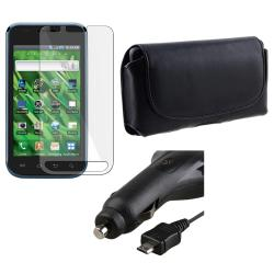 Leather Case/ Screen Protector/ Car Charger for Samsung Vibrant T959